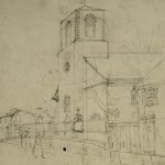 Drawing of Charleston Church