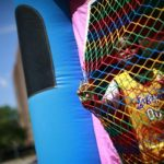 Boy attends Father's Day carnival at the Van Dyke Community Center in Brownsville